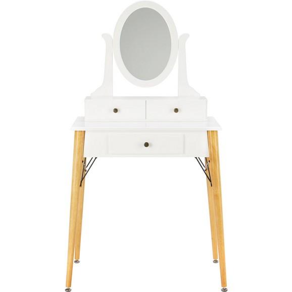 schminktisch in wei eiche online kaufen m max. Black Bedroom Furniture Sets. Home Design Ideas