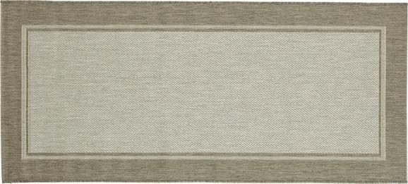 Ravno Tkana Preproga Naomi 2 - siva, Konvencionalno, tekstil (80/300cm) - Mömax modern living