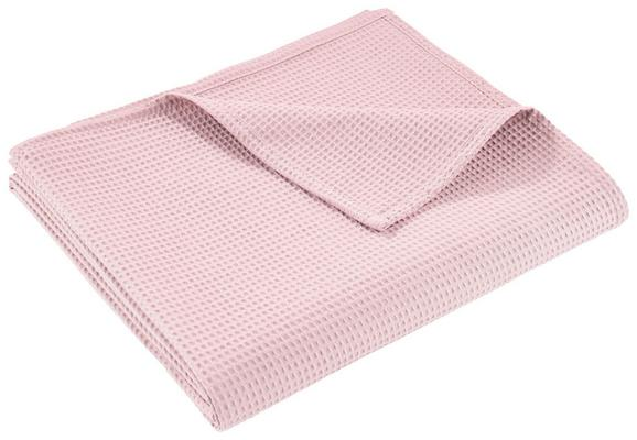 Prekrivač Gerard - roza, tekstil (150/200cm) - Mömax modern living