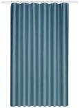 Duschvorhang Uni 180x200cm - Blau, Textil (180/200cm) - Mömax modern living