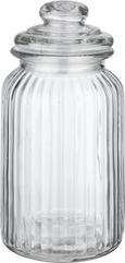 Posoda Za Shranjevanje Jochen -top- - prozorna, Romantika, steklo (11/22,5cm) - Mömax modern living