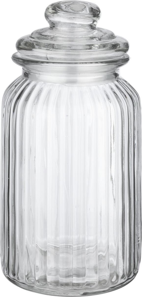 Vorratsdose Jochen - Klar, ROMANTIK / LANDHAUS, Glas (11/22,5cm) - Mömax modern living