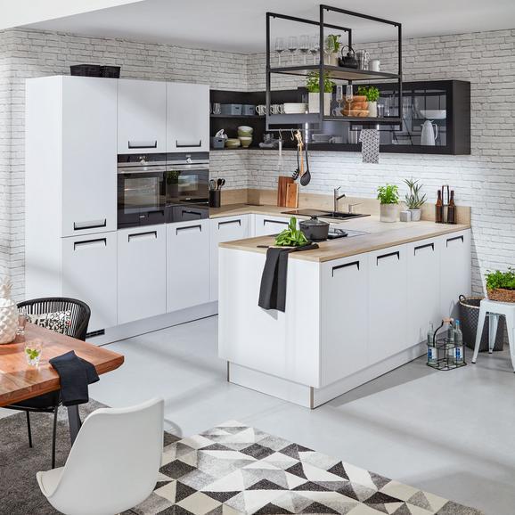 Einbauküche Nolte Integra Weiß - Weiß (305/290cm) - Nolte Küchen
