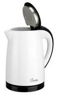 Wasserkocher Bikitchen - Schwarz/Weiß, MODERN, Kunststoff (22,5/25,5/13,5cm)