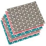Gobasta Krpa Paula 6-delni Set - roza/siva, Moderno, umetna masa (18/20/2cm) - Mömax modern living