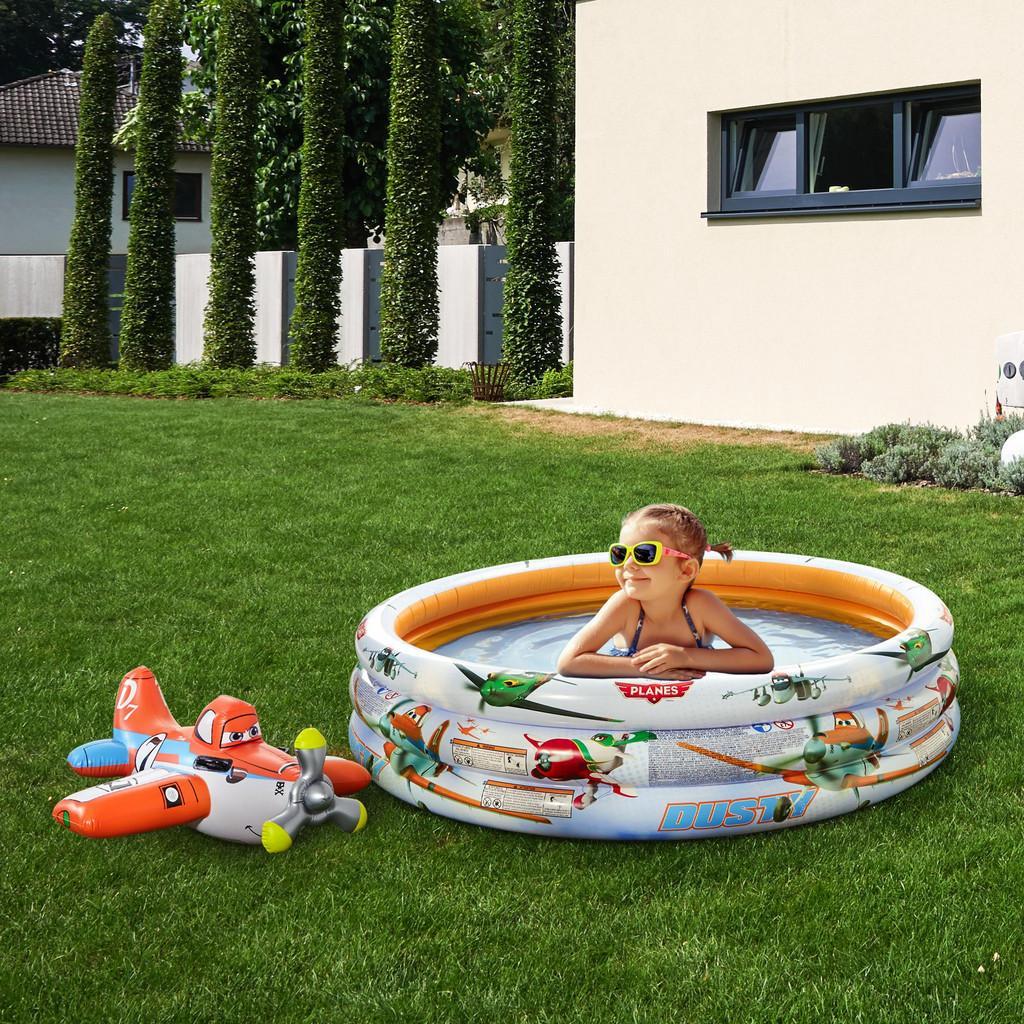 Kinderschwimmbecken Planes | Garten > Swimmingpools > Schwimmbecken | Orange -  weiß | Intex
