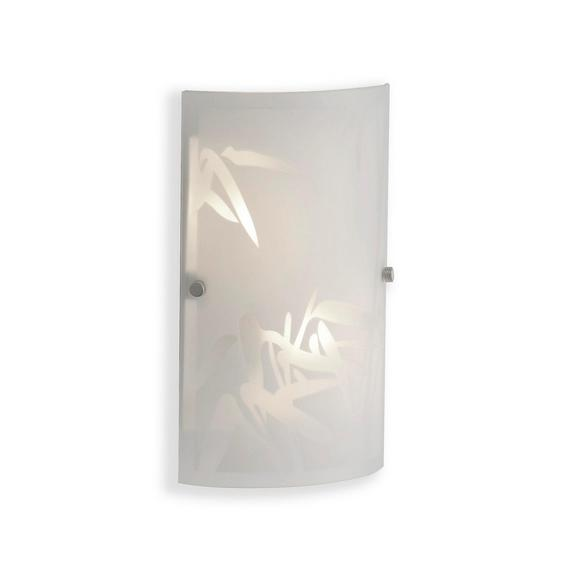 Stenska Svetilka Square - bela, Konvencionalno, steklo (15,2/25,5cm) - Mömax modern living