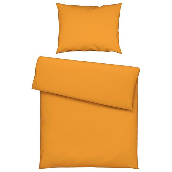 Lenjerie De Pat Iris - galben, textil (140/200cm) - Mömax modern living