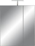Spiegelschrank Braun - Dunkelbraun, KONVENTIONELL, Glas/Holzwerkstoff (65/75/22cm) - Premium Living