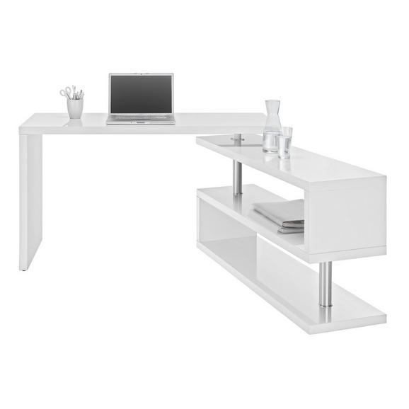 Schreibtisch Weiß Hochglanz Online Kaufen Mömax