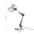 Asztali Lámpa Julian - Króm, konvencionális, Fém (57.5cm) - Modern Living