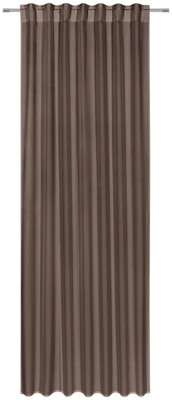 Kombivorhang Ulli Braun 140x300cm - Braun, Textil (140/300cm) - MÖMAX modern living