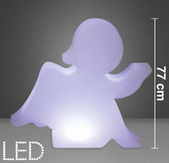 LED-Dekoleuchte Angel - Weiß, MODERN, Kunststoff (85/17/77cm) - Mömax modern living