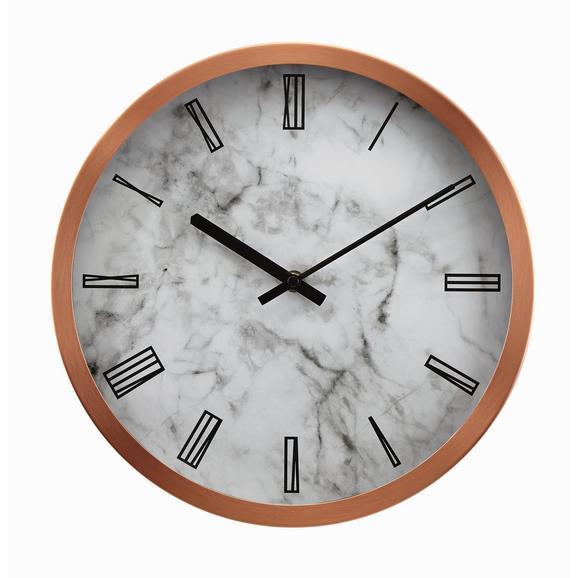 Stenska Ura Sally - siva/bela, kovina/steklo (30,5cm) - Mömax modern living
