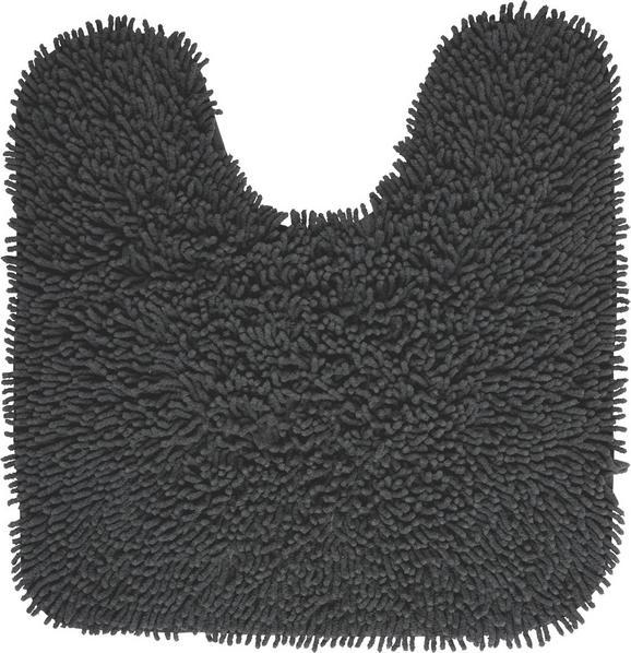 WC-Vorleger Jenny ca. 55x55cm - Anthrazit, Textil (55/55cm) - MÖMAX modern living
