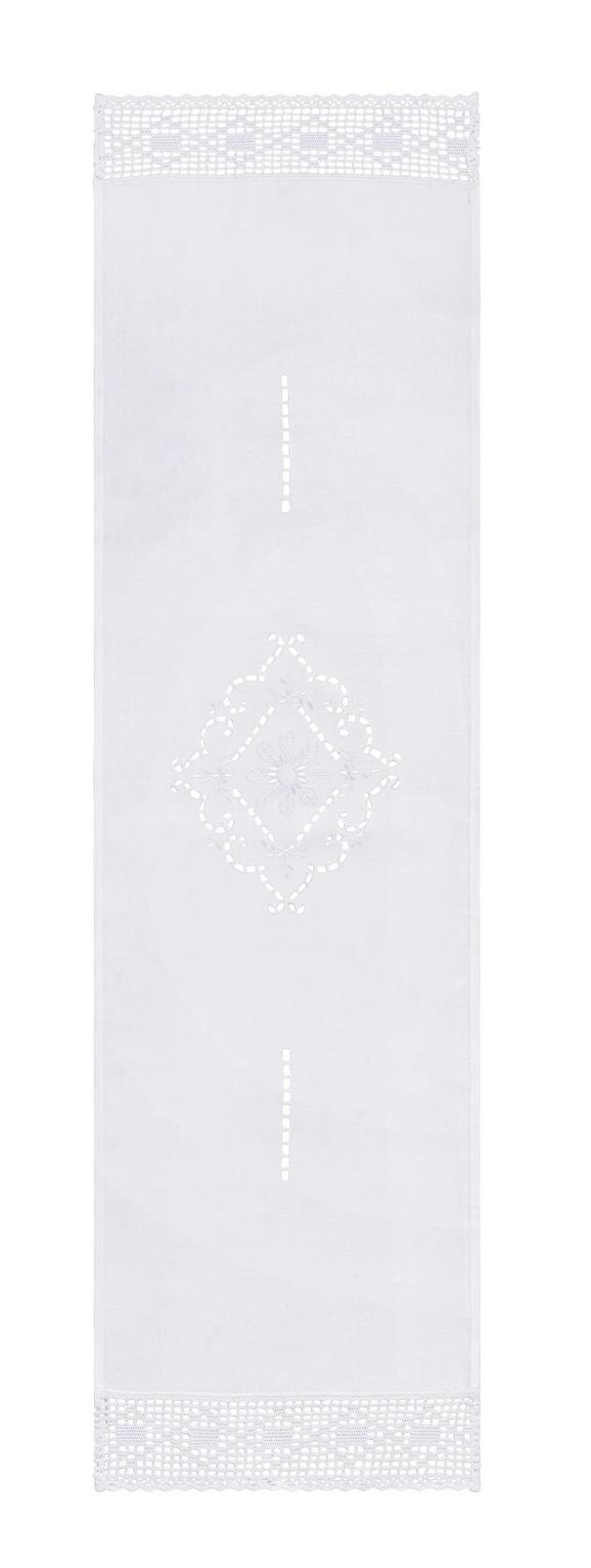 Nadprt Spitze - bela, Romantika, tekstil (40/150cm) - Mömax modern living