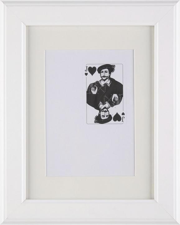Képkeret Provence - fehér, romantikus/Landhaus, üveg/fa (18/24cm) - Mömax modern living