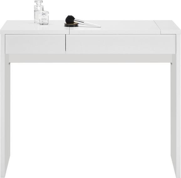 Schminktisch Weiß - Weiß, Holzwerkstoff (90/76/40cm) - Modern Living