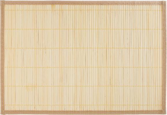 Tischset Asia Natur - Naturfarben, Holz (30/45cm) - Mömax modern living