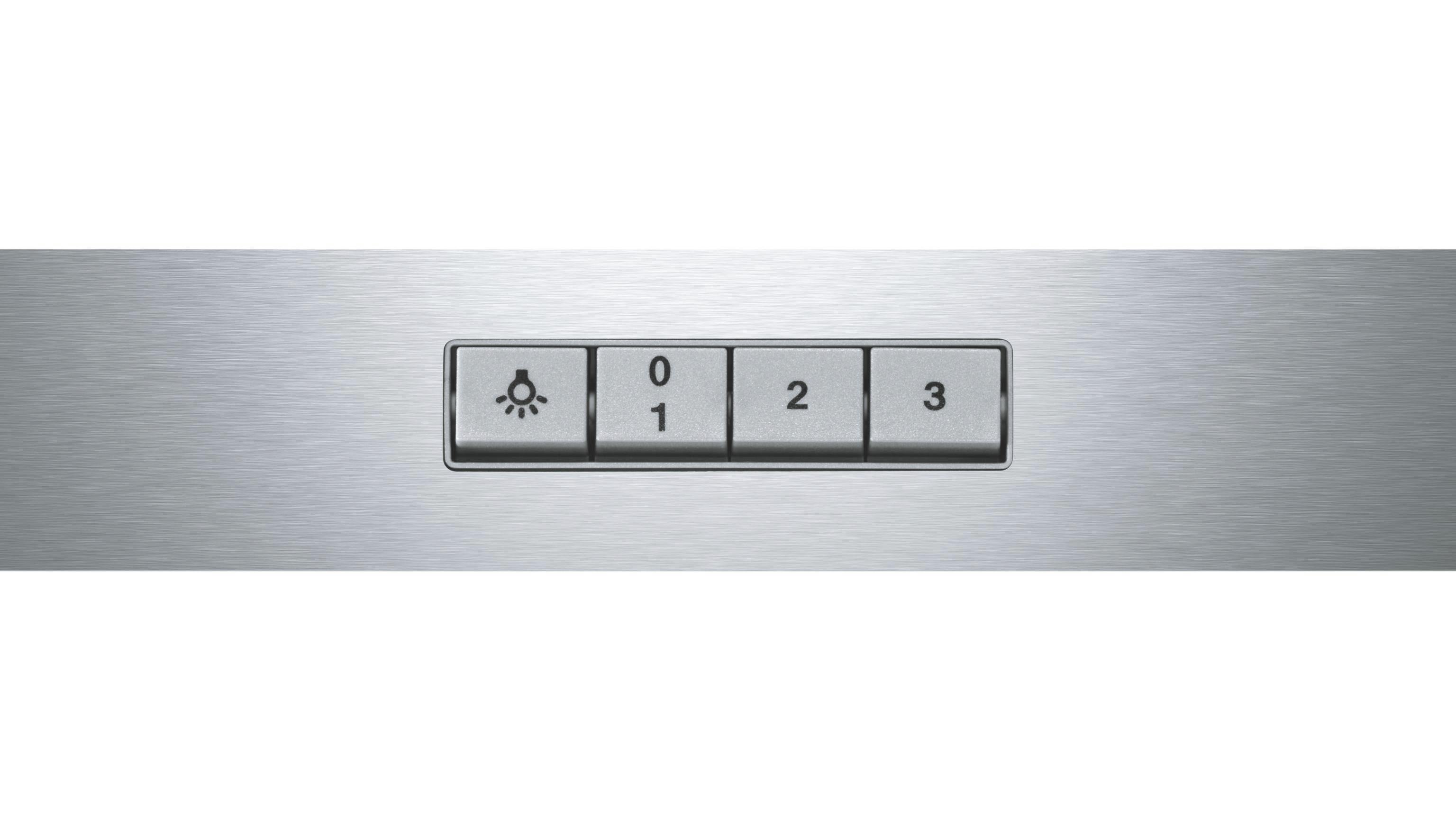 Dunstabzugshaube Bosch Dwa064w50, EEZ D - ROMANTIK / LANDHAUS, Glas/Metall (60/63,4-106,4/54cm) - BOSCH