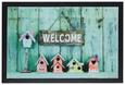 Fußmatte Welcome Home 40x60cm - Multicolor, MODERN, Textil (40/60cm) - Mömax modern living