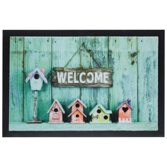Fußmatte Welcome Home ca. 40x60cm - Multicolor, MODERN, Textil (40/60cm) - Mömax modern living