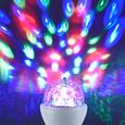 Deko-Leuchtmittel Disco max. 3 Watt E14 - Klar/Weiß, Kunststoff (8/8/13cm)