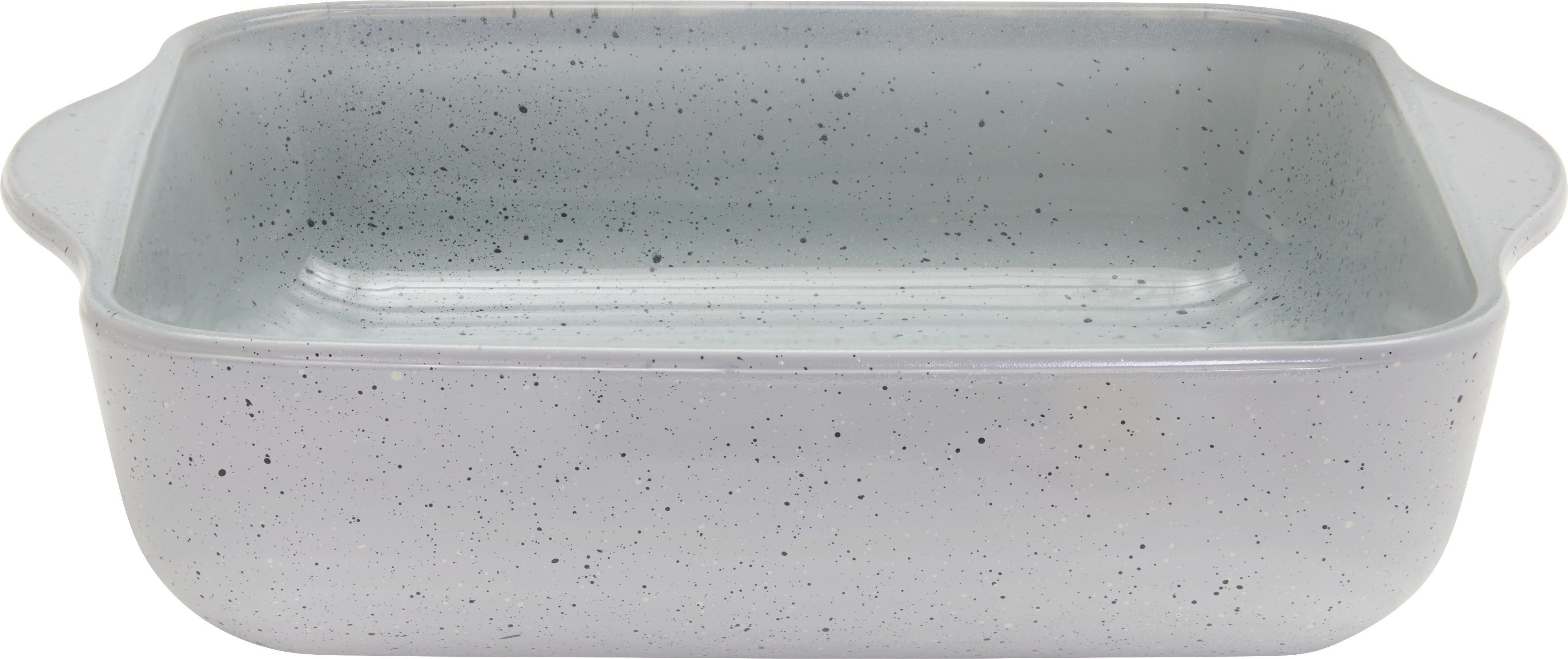 Auflaufform Sharon in Grau - Grau, Glas (25,6/18,4/5cm) - MÖMAX modern living