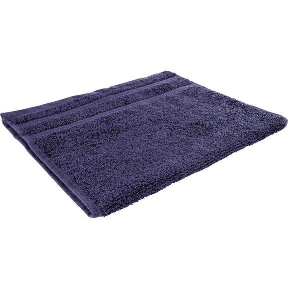 Gästetuch Melanie Blau - Dunkelblau, Textil (30/50cm) - Mömax modern living