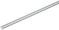 Vorhangschiene Style Alufarben - Alufarben, Metall (160cm) - Premium Living
