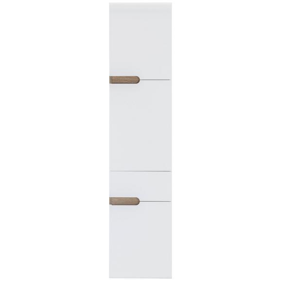 Dulap Înalt Linate - Modern, compozit lemnos (40/176/31cm) - Modern Living