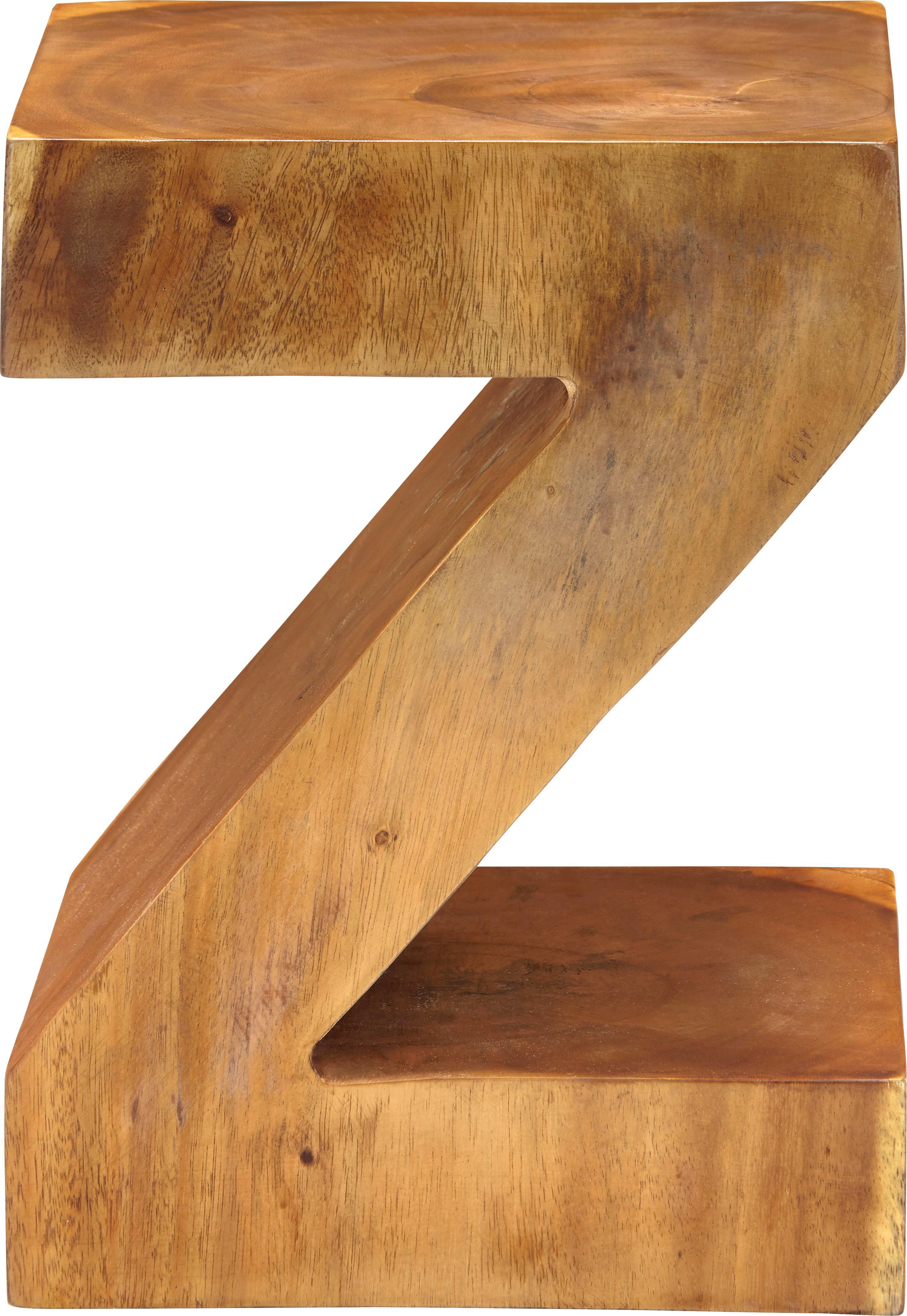Hocker Tset - Braun, MODERN, Holz (30/40/30cm) - MÖMAX modern living