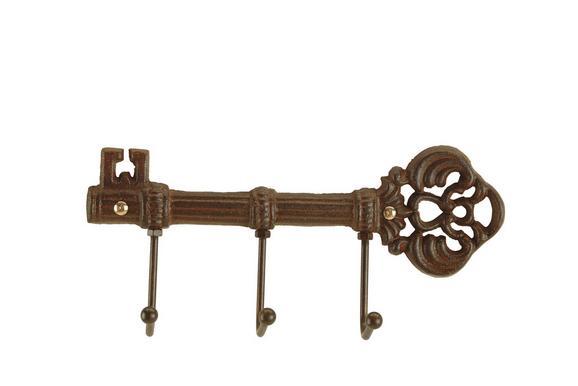 Kaveljček Pit -sb- - temno rjava, kovina (23/11/5cm) - Mömax modern living