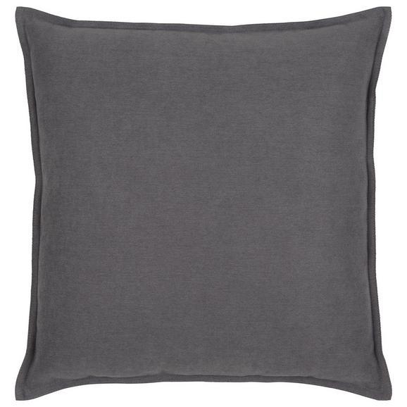 Zierkissen Poppy Grau ca. 45x45cm - Grau, MODERN, Textil (45/45cm) - Mömax modern living