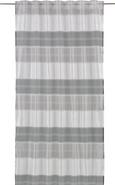 Fertigvorhang Filippo Grau/Schwarz 140x245cm - Schwarz/Grau, KONVENTIONELL, Textil (140/245cm) - Mömax modern living