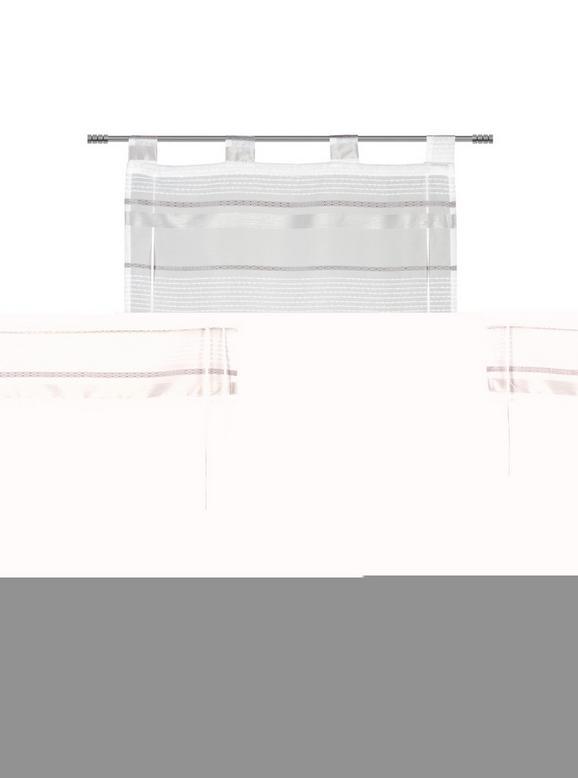 Bändchenrollo Adele, ca. 60x140cm - Grau, KONVENTIONELL, Textil (60/140cm) - MÖMAX modern living