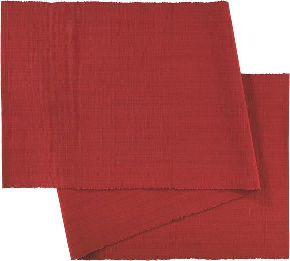 Tischläufer Maren in Rot - Rot, Textil (40X/150cm) - MÖMAX modern living
