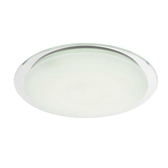 LED-Deckenleuchte Optima max. 60 Watt - Klar/Weiß, MODERN, Kunststoff/Metall (55,5/7,5cm)