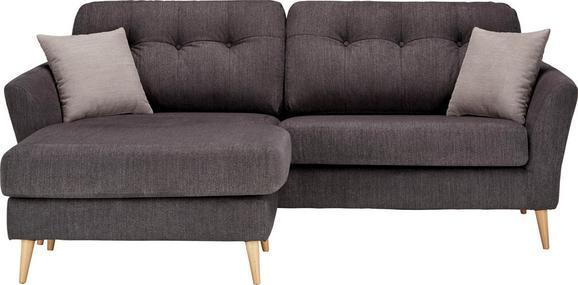 Sedežna Garnitura Gran Canaria - temno siva/svetlo siva, Trendi, tekstil (210/156cm) - MODERN LIVING