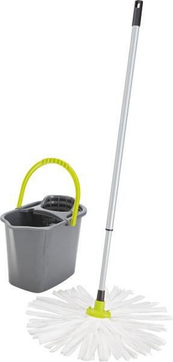 Felmosó Szett 82243 - Zöld/Szürke, Műanyag (4mm) - Mömax modern living
