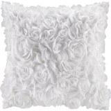 Zierkissen Rosalinde Weiß ca. 40x40cm - Weiß, ROMANTIK / LANDHAUS, Textil (40/40cm) - Mömax modern living
