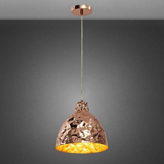 Pendelleuchte Koppar - Goldfarben, MODERN, Kunststoff/Metall (26/160cm) - Mömax modern living