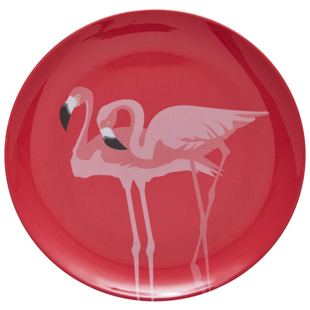 Desertni Krožnik Flamingo Couple