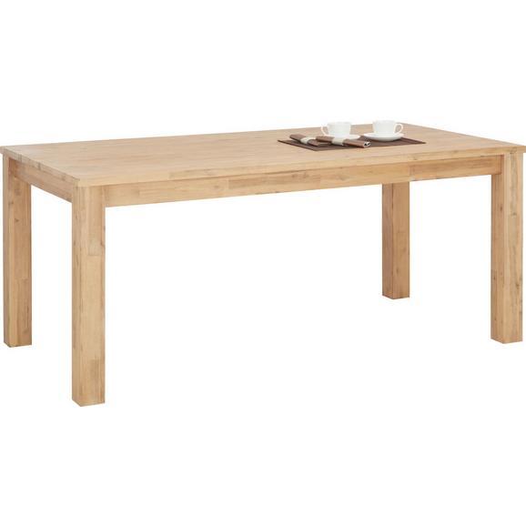 Esstisch aus Akazie Massiv - Akaziefarben, KONVENTIONELL, Holz (180/76/90cm) - Zandiara