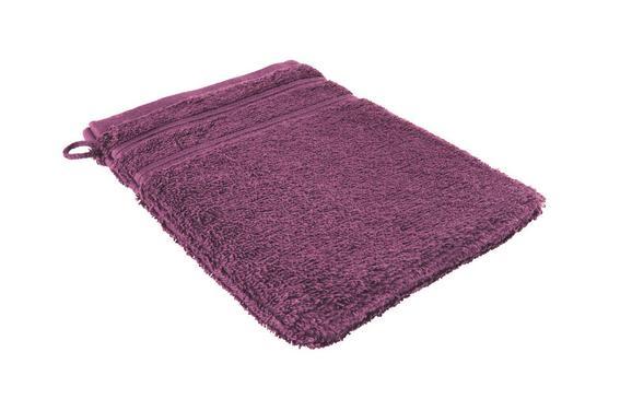 Waschhandschuh Melanie in Lila - Lila, Textil (16/21cm)
