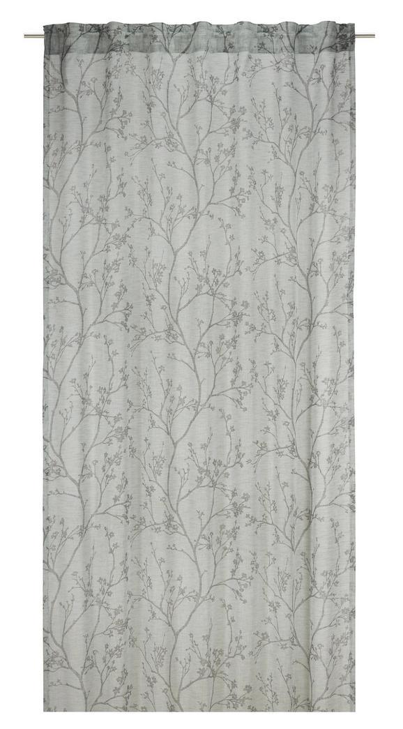 Készfüggöny Judith - Zöld, romantikus/Landhaus, Textil (140/245cm) - Mömax modern living