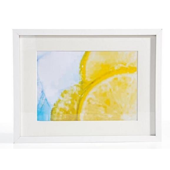 Okvir Za Slike Gitta - bela, Moderno, steklo/leseni material (30/40/3,6cm) - Mömax modern living