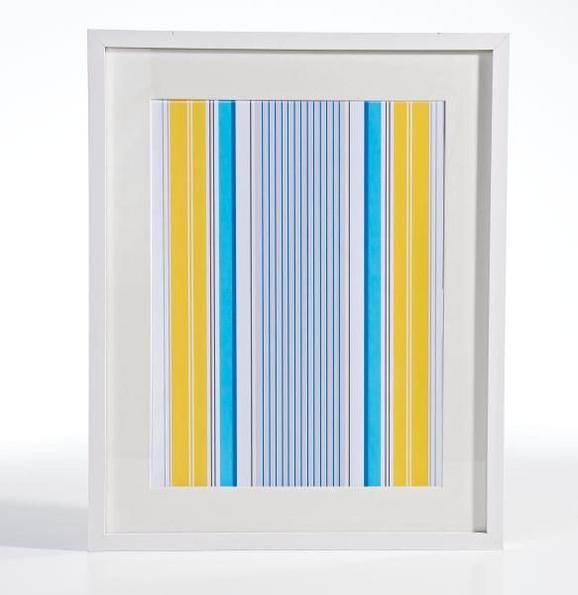 Bilderrahmen Gitta, ca. 40x50cm in Weiß - Weiß, MODERN, Glas/Holz (40/50cm) - Mömax modern living