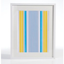 Bilderrahmen Gitta Weiß ca. 40x50cm - Weiß, MODERN, Glas/Holzwerkstoff (40/50cm) - Mömax modern living