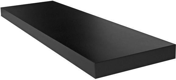 Falipolc Giga - Fekete, modern, Faalapú anyag (80/3,8/23,50cm)
